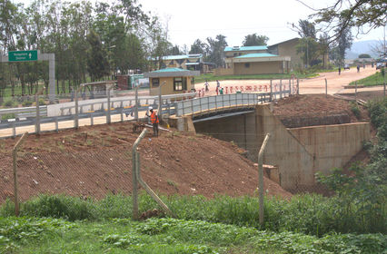 Mirama Kagitumba Bridge Construction